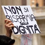 Sla: la protesta a Roma
