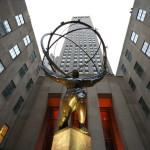 La statua di Atlas al Rockefeller Center