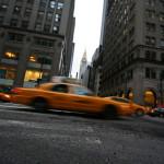 taxi sulla 5ft Avenue