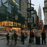 semaforo pedonale a Manhattan