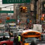 traffico a Manhattan