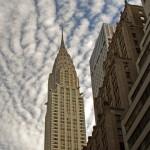 Scorcio verso il Chrysler Building