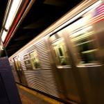 banchina della metropolitana alla 50 Street