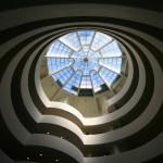 L'interno del Museo Guggenheim