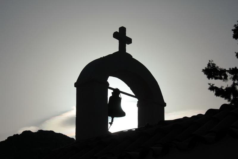 Campana della chiesa di Agios Pavlos