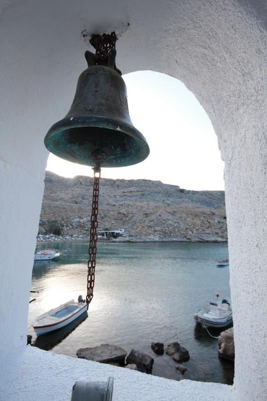 Scorcio della baia di Agios Pavlos