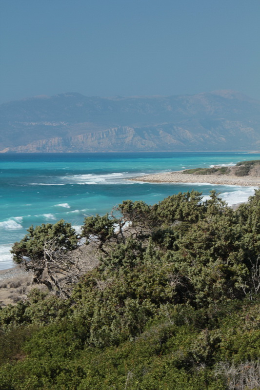 Mare mosso ad Apolakia bay