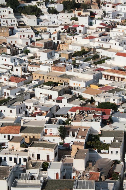 I tetti di Lindos