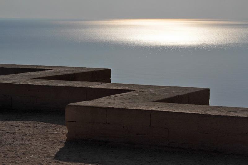 Muretto di recinzione del Castello di Lindos