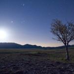 Panorama nottuno nei pressi di Fonte Vetica