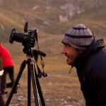 fotografi in azione nei pressi del lago Pietranzoni