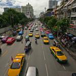 Traffico cittadino a Bangkok