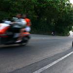 Scooter su una strada di Koh Samui
