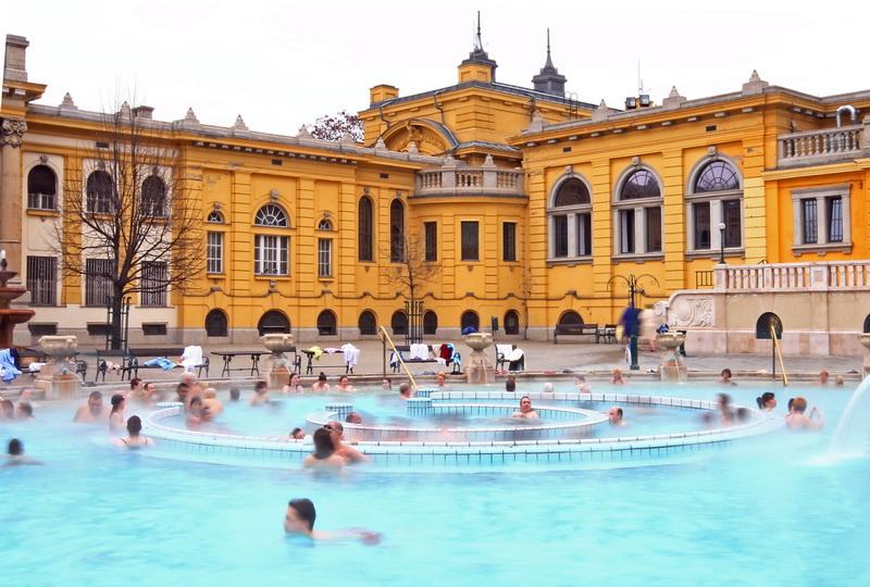 piscine termali Széchenyi