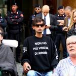 Disabili gravi davanti al ministero dell'Economia